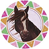 9 Stück Muffinaufleger Muffinfoto Aufleger Foto Bild Horses Dream Pferd (7) rund ca. 6 cm *NEU*OVP*