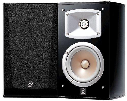 Yamaha NS 333 Regal Lautsprecher System (2-Wege Bassreflex, akustische Aufhängung, 60W) klavierlackschwarz
