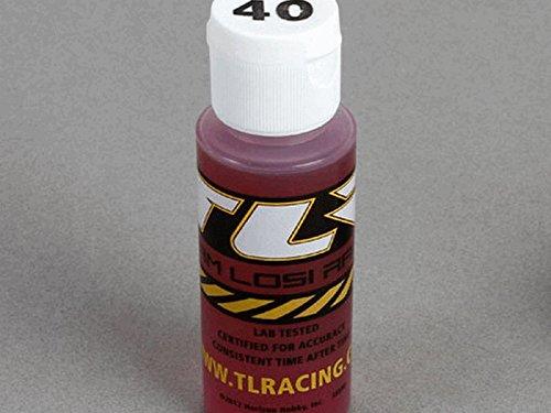 TLR Silicone Shock Oil (40wt/2oz) - TLR74010