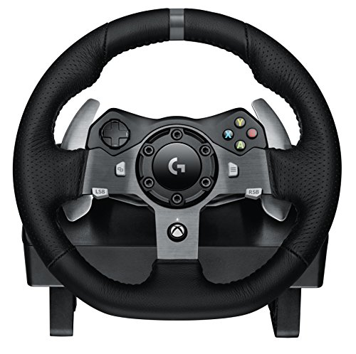 Logitech G920 UK Plug Driving Force Racing Wheel for Xbox One and PC Test