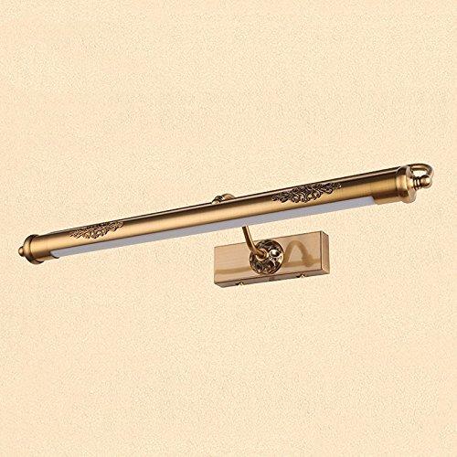 SJUN American Vintage Led Espejo Frontal Luz A Prueba De Humedad Aparador Lámparas Habitaciones Bar Accesorio Baño 52Cm