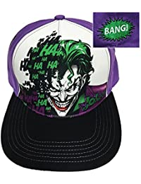 DC Comics The Joker Dye Sublimation Mens Snapback Casquette De Baseball