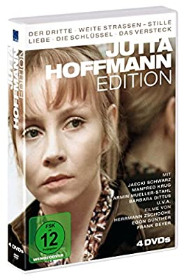 Jutta Hoffmann Edition (4 DVDs: Der Dritte, Weite Strassen - Stille Liebe, Die Schlüssel, Das Versteck )