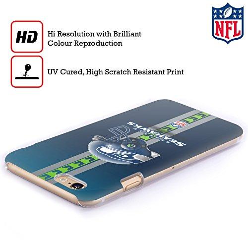 Offizielle NFL Camou Seattle Seahawks Logo Ruckseite Hülle für Apple iPhone 6 / 6s Helm