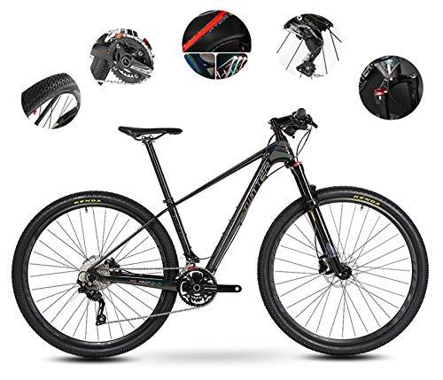Vélo De Montagne De Vélo Adapté Pour Les Hommes Et Les Femmes, 29 Pouces De Roue, 20 Vitesses (30...