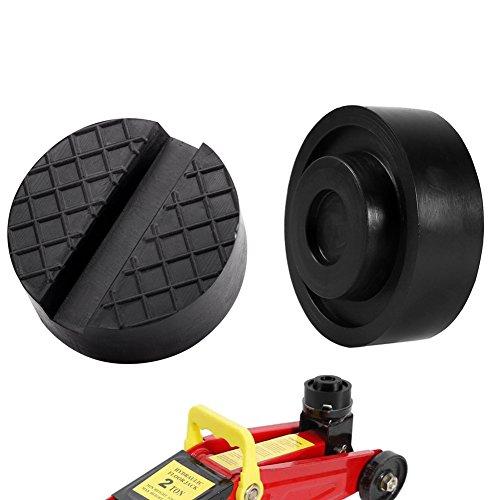Preisvergleich Produktbild Wagenheber Gummiauflage, LEICHAO Gummiplatte Gummiblock Rangierwagenheber KFZ Werkstatt 2 Stück (2)