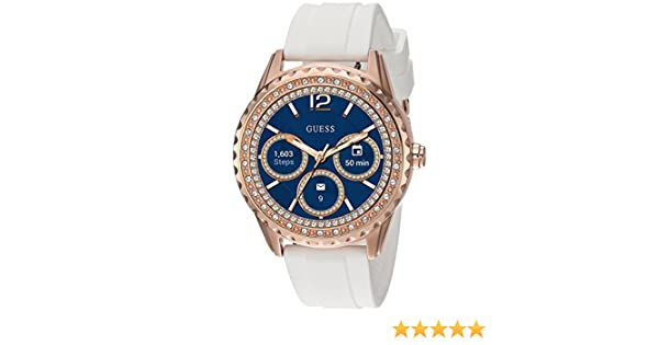 Guess Jemma Ladies Touch AMOLED Rose Gold Montre connectée: Amazon.fr: High-tech