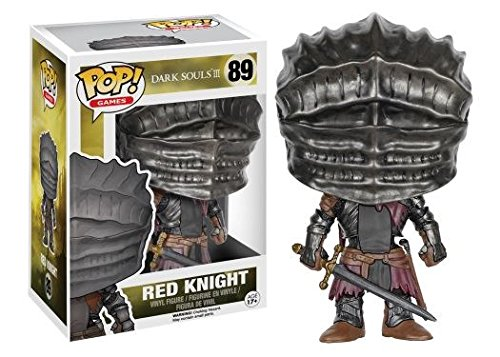 Funko POP! Dark Souls III: Red Knight - Stylized Video Game Vinyl Figure 89 NEW