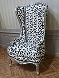 Fauteuil baroque Fauteuil chaise trône fauteuil pompe d'occasion  Livré partout en Belgique