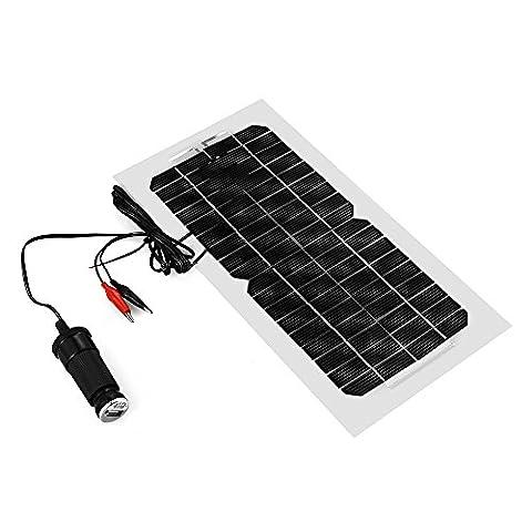 XCSOURCE 5.5W 18V Solar Paneel Aufladegerät für Auto Motorrad LKW Boot Batterie und Handy BC567
