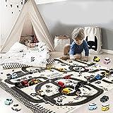 Spielteppich Kinderteppich Autoteppich Straßenteppich Streets Spielzeug Teppich Kinderteppich Mat Für Kinder Baby