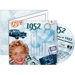 CDCard Company 1952 - The Classic Years CD - Birthday Card CDC1639540 by A Time To Remember
