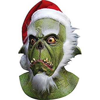 Masque père noël monstrueux adulte Halloween