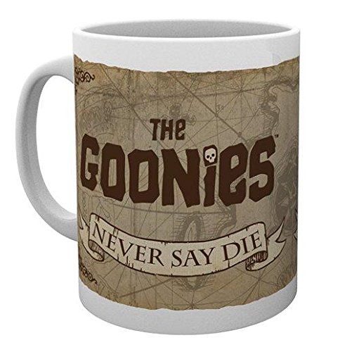 The Goonies Never Say Die Map Mug