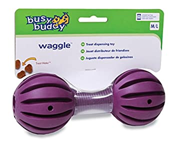 Petsafe Jouet BB-WAG-ML-11 Busy Buddy Waggle Os Souple pour Chien Taille M/L