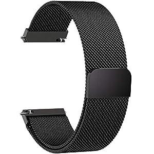 Fullmosa Uhrenarmband, Smart Watch Armand Ersatzband mit Edelstahl Magnet-Verschluss Watch Replacement für Damen&Herren