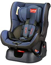 LuvLap Sports Convertible Car Seat for Baby & Kids from 0 Months to 4 Years (Blue)