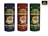 RiteBite Max Protein 7 GRAIN PROTEIN SNACKS (PROTEIN CHIPS)120 Grams Assorted Pack(Pack Of 9)