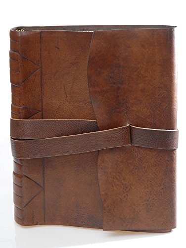 Masters Buchhandlungen eugubini-Fotoalbum Leder von Kalbsleder von Hand Snapback, Abmessungen: 23x 30cm