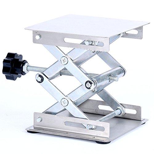 YaeTek Hubtisch-Plattformen, Scherenheber-Plattform fürs Labor., 4 Inch X 4 Inch, 1