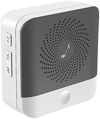 Somikon Zubehör zu WLAN Glocke: Klingel-Empfänger zur Erweiterung von WLAN-Video-Türklingel (Glocke mit Kamera)