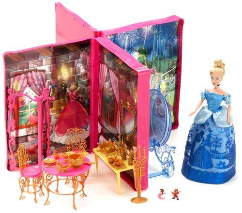 Simba 5764625 Disney Princess  - Muñeca de la Cenicienta + Libro
