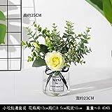 RTSMM Petites Fleurs artificielles en Soie pour Salon Décoration de Table, Small Can Man Set (Quality Special)