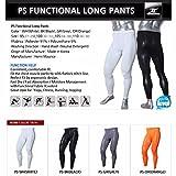 Lange Kompressions-Unterhose für Herren, Leggings, Unterwäsche, PS Gr. Medium, weiß