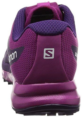 Salomon Sense Pro 2, Scarpe da Corsa Donna Viola (Cosmic Purple/Cosmic Purple/Azalee)