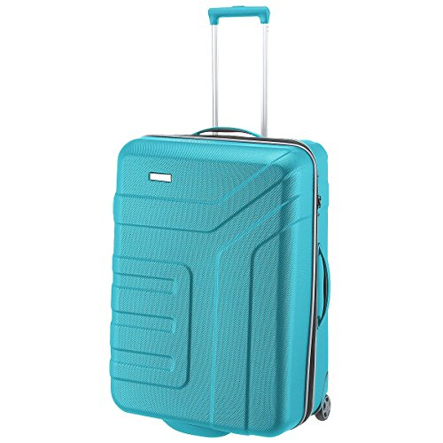 Travelite Valise trolley Vector avec 2 roues turquoise Koffer, 73 cm, 110 liters, Türkis (Turquoise)