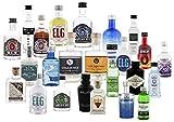 Gin Adventskalender Grün 1 Stück (bestückt mit 24 original Miniaturen)