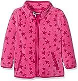 Playshoes Baby-Mädchen Jacke Fleecejacke Allover Sterne, Oeko-Tex Standard 100, Rosa (Pink 18), 80