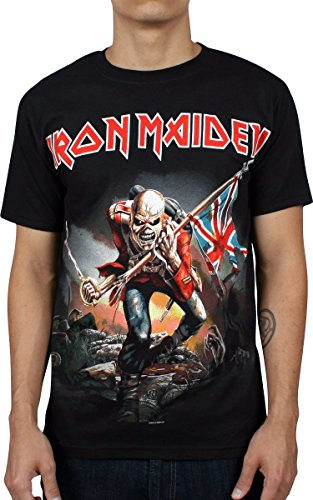 Iron Maiden - - The Trooper Men's T-Shirt in nero