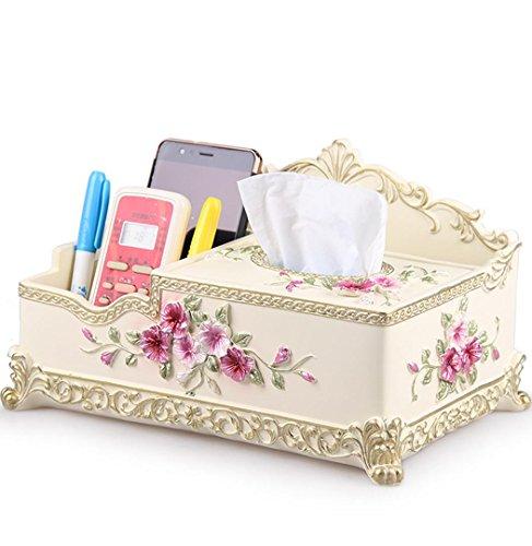 Ginger Lippenstift (HUAZHUANGXIANGBAO Desktop-Skin Care kreative Aufbewahrungsbox großer Aufbewahrungsbox Desktop Lippenstift kosmetische Schmuckschatulle Kommode, Ginger)