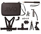 Jivo JI-1850 GoGear 11-in-1 Kit for GoPro or Action Camera