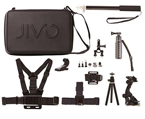 Jivo JI-1850 Go Gear Universal Action Kamera Zubehör-Set