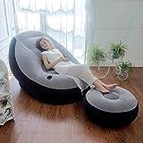 Sofá cama inflable sofá cojín del sofá reclinable espesado