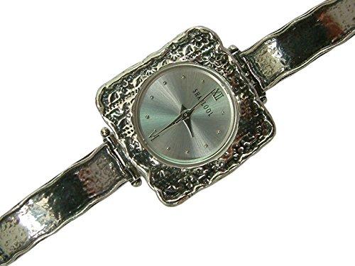 Valentinstag Perfekte Geschenk Precious natur 925Silber Armbanduhr