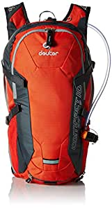 Deuter Rucksack Compact Air EXP 10, Papaya/Granite, 44 x 26 x 18 cm, 32182