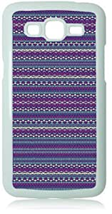 Tribal Patterns White Back Cover Case for Samsung Galaxy Grand 2 G7106