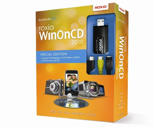 ROXIO WinOnCD 2010 VHS to DVD Edition