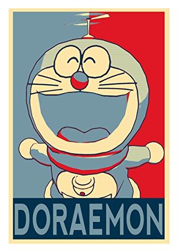 Instabuy Posters Doraemon Propaganda Doraemon - A3 (42x30 cm)