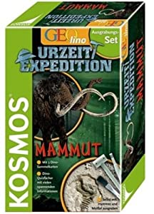 KOSMOS 630188 - Prehistoric Expedition: Mammut Importado de Alemania