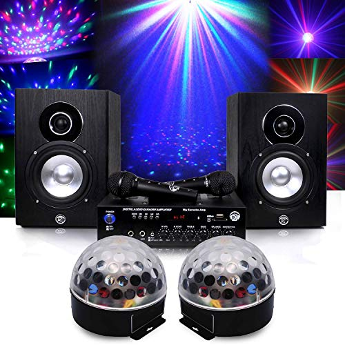 My deejay Pack meines vollen 150W Karaoke & Ball Astro Crystal RGB-LEDs