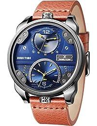 Daniel Klein Analog Blue Dial Men's Watch-DK11125-5