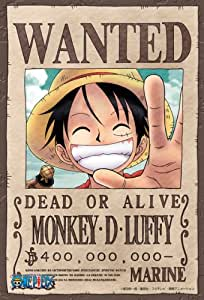 One Piece Monkey D Luffy Wanted Poster Mini-Puzzle 150 pièces (n°150-382)
