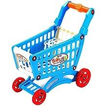 Delicacydex Simular Supermercado Carrito de la Compra Juegos de imaginación Juguetes Niños Mini Juguete de plástico
