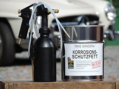 Preisvergleich Produktbild Druckbecherpistole HSDR 3300 Set mit 2 Sonden u. 4kg Mike Sanders
