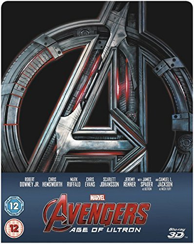 AVENGERS AGE OF ULTRON Blu ray 3D STEELBOOK Limited Edition