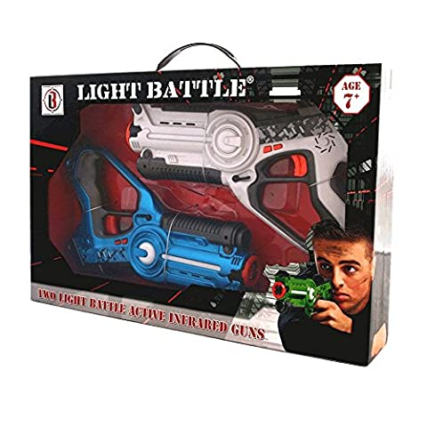 Light Battle Active pistolet lazer game. 1 pistolet infrarouge bleu